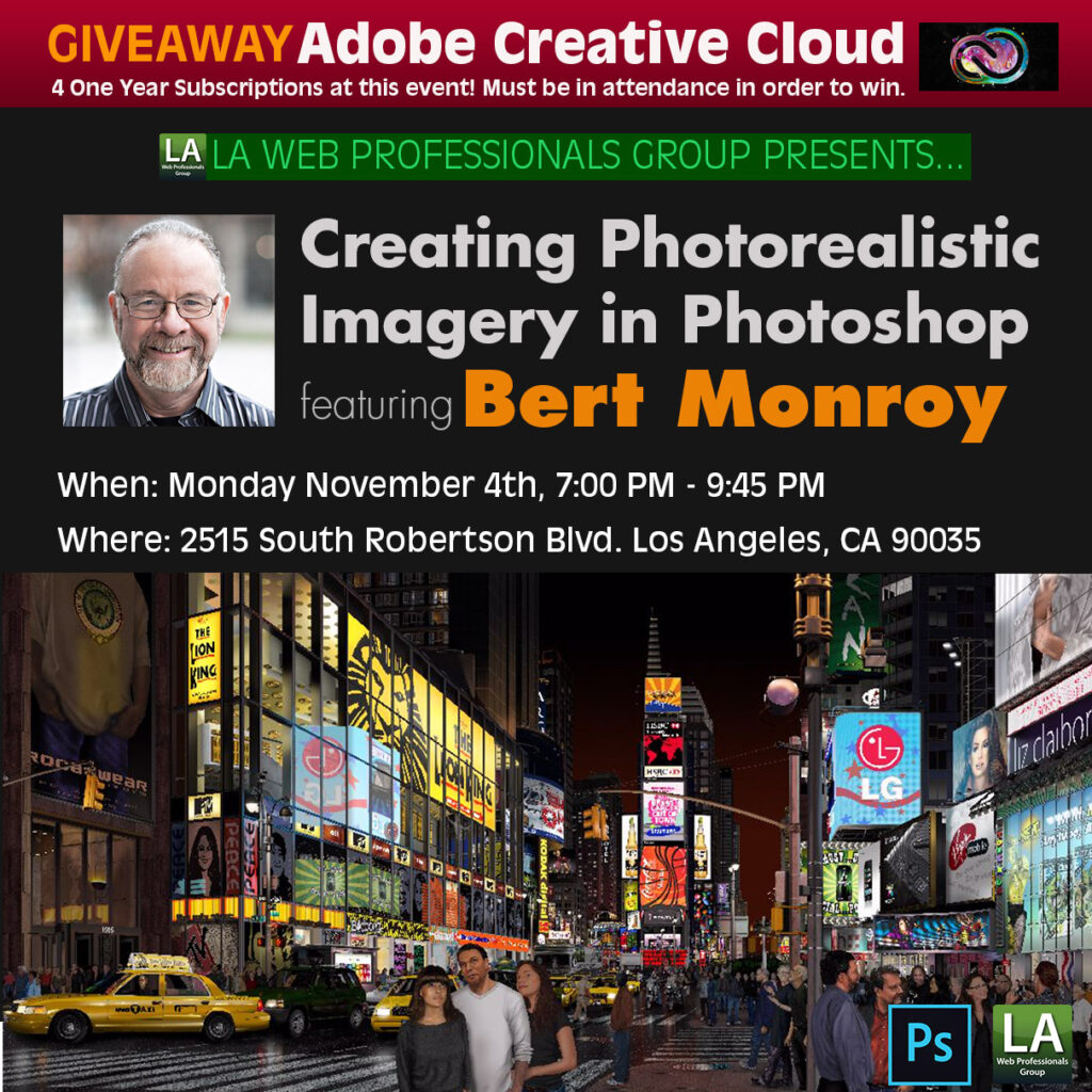Creating Photorealistic Imagery in Photoshop featuring Bert Monroy 1